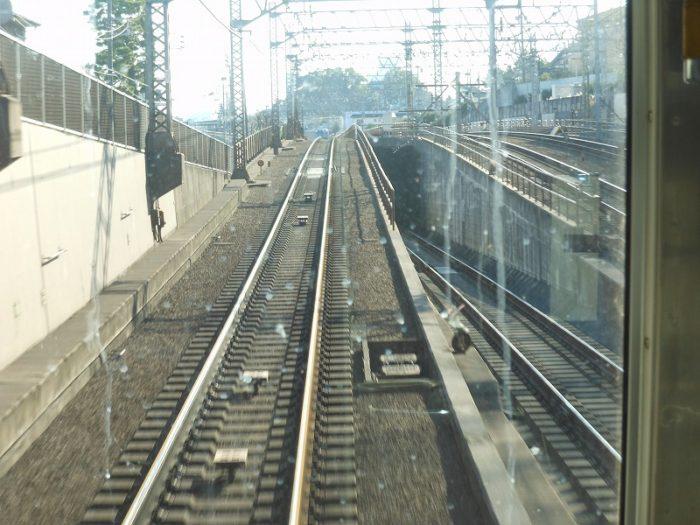東急多摩川線への連絡線