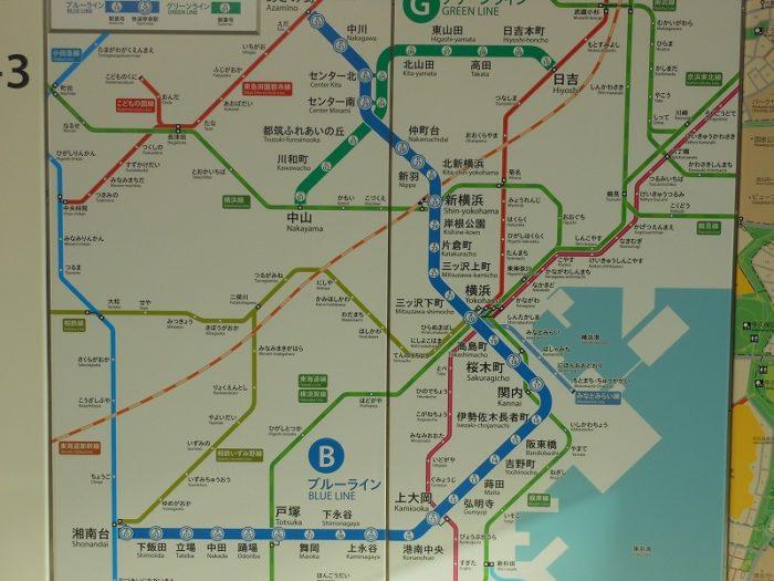 横浜市営地下鉄と周辺の関係