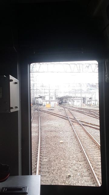 志木では待ち合わせの列車はいない
