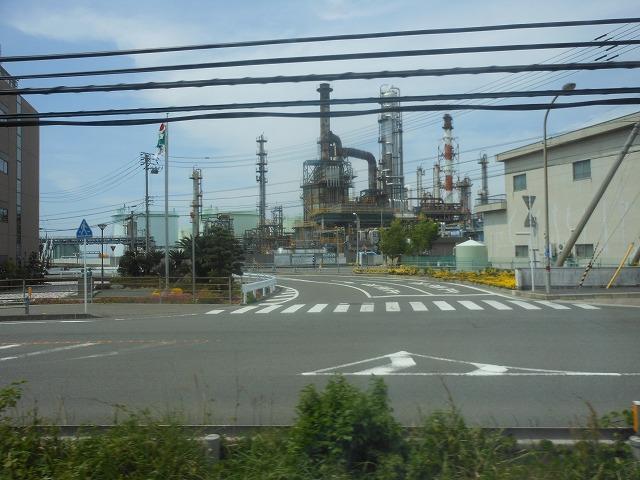 愛媛県の工場