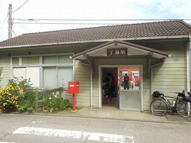 下灘の駅舎