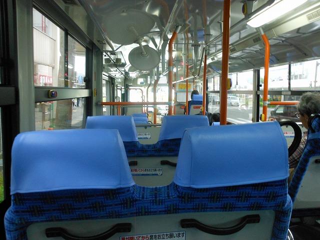 宇和島バスの内装