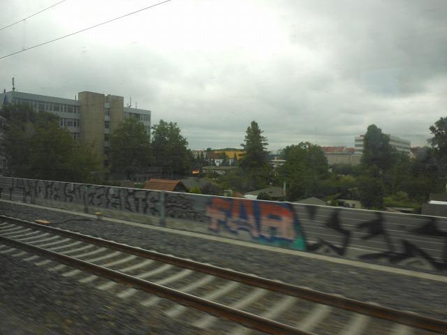 ICE2から眺めたベルリン市内
