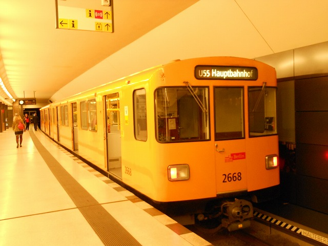 ベルリンUバーン55系統