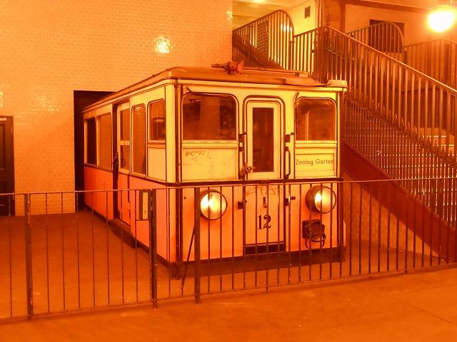 旧西ベルリン時代と思われる車両