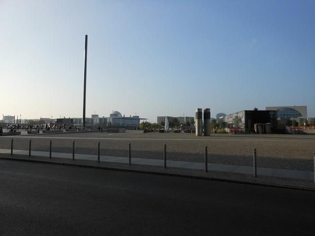 ベルリン中央駅周辺(2016年)