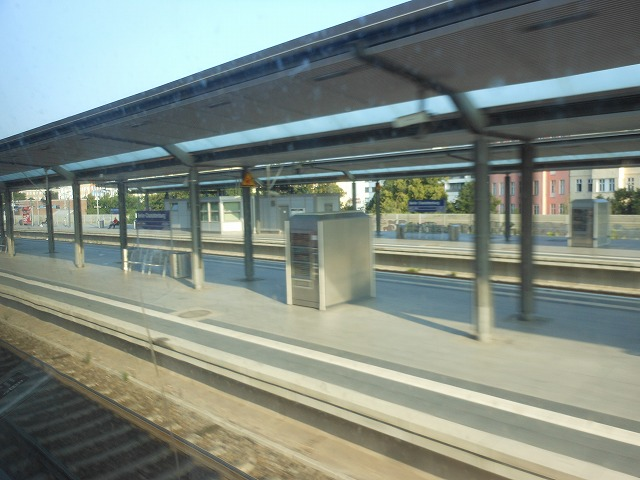 REから眺めるシャルロッテンブルク駅