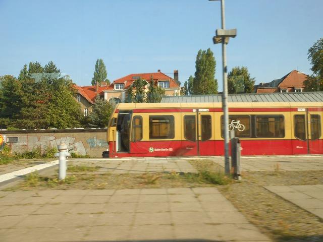 S1から眺めるベルリン市内