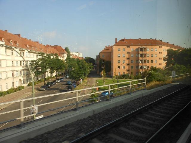 環状線から眺めるベルリン市内
