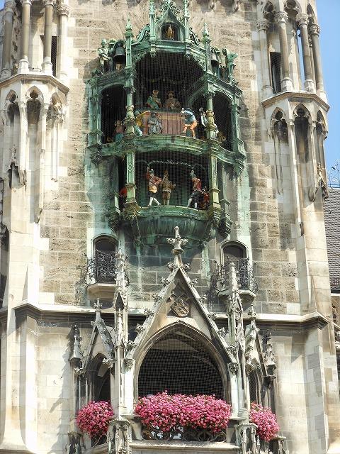 ミュンヘン新市庁舎のからくり時計