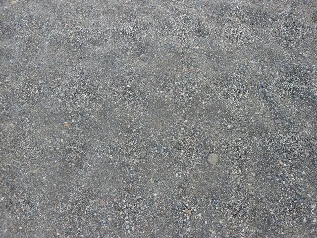 砂といっても均一ではない