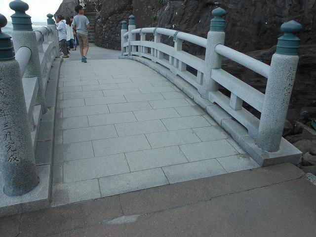 絶景ポイントへの橋