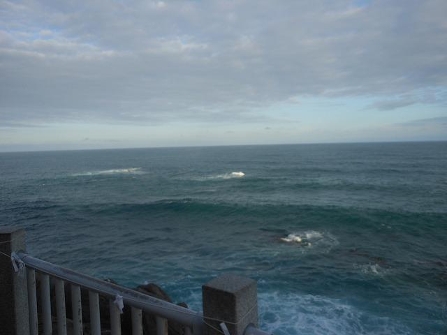 荒々しい太平洋