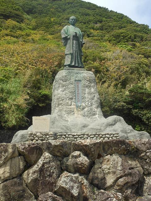 室戸岬にもある銅像