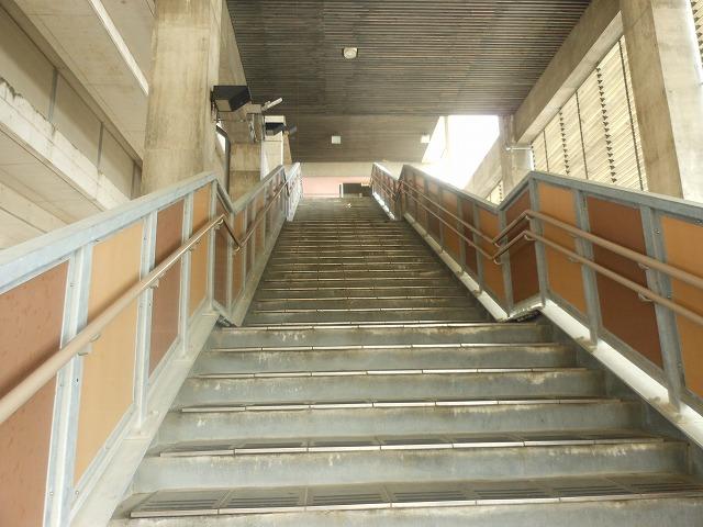 奈半利の階段