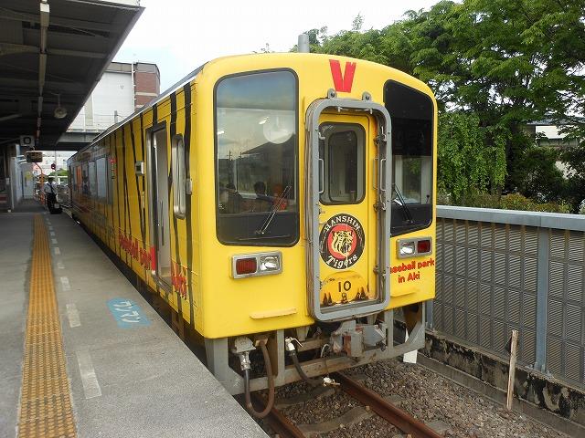 阪神カラーの車両