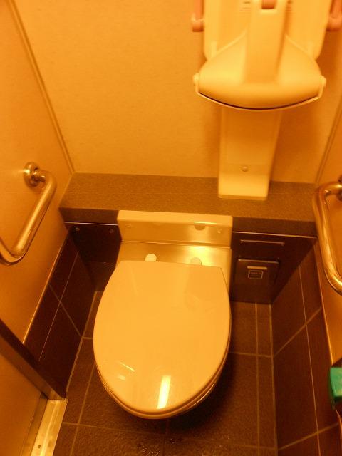 サンライズのトイレ