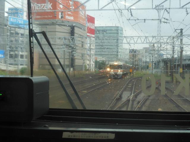 関西線:名古屋発車したら中央線とすれ違う