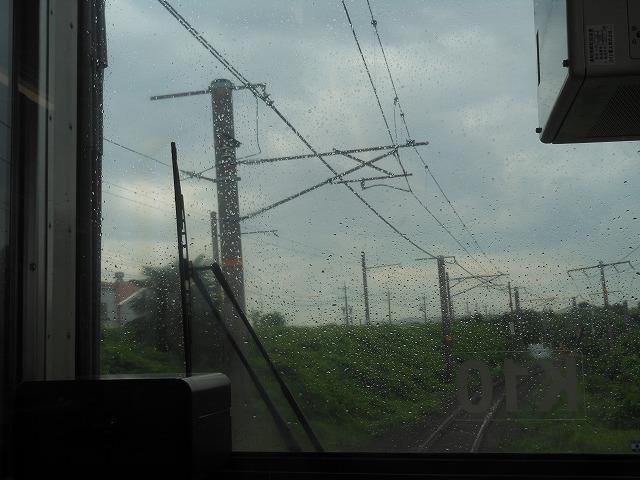伊勢鉄道への線路が分岐する