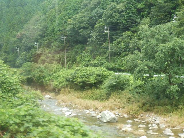 関西線:川を眺める