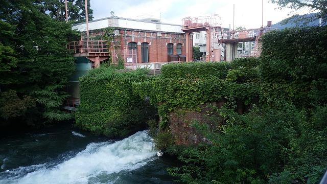 美しい水力発電所
