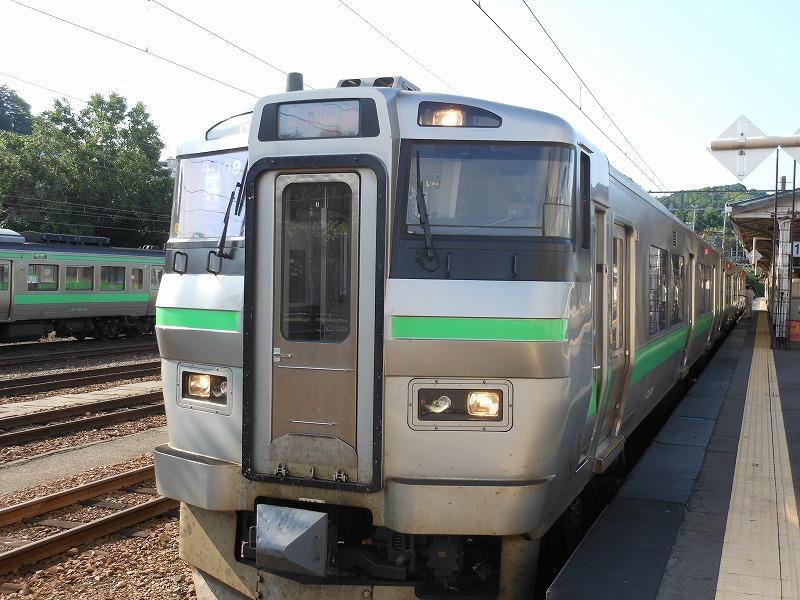733系電車(2013年8月小樽)