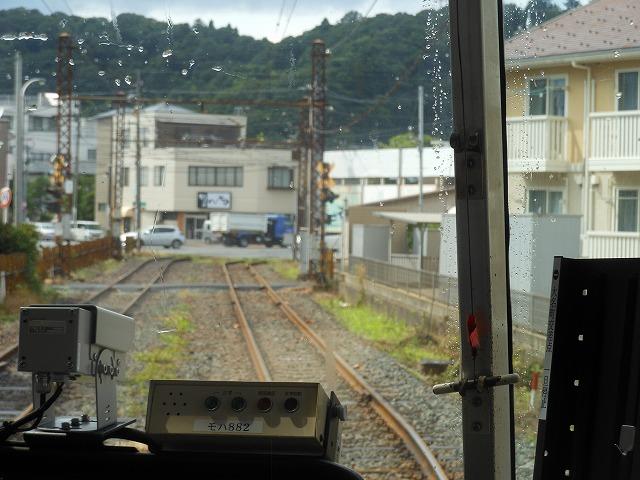福井鉄道:専用軌道に入る