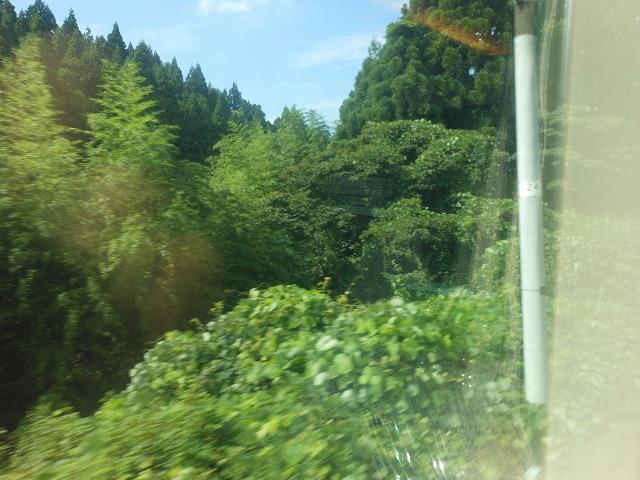 サンダーバードからの車窓