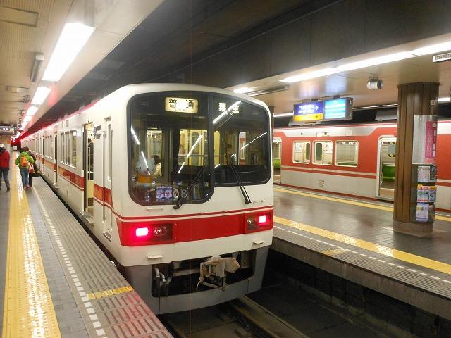 神戸電鉄の主力5000系