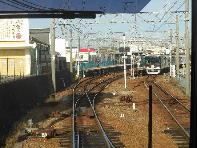 神戸電鉄の6000系(かな)