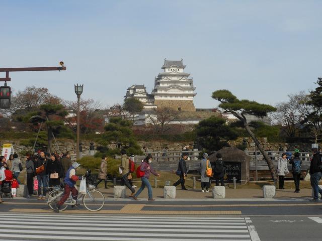 姫路城に近づいた