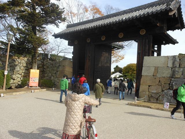 姫路城全体の入口
