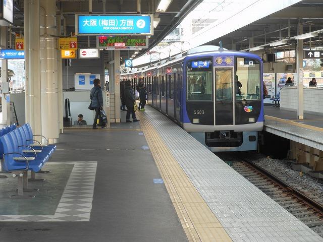 5500系の普通電車(阪神尼崎)