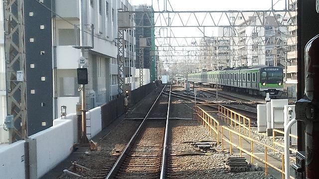 笹塚始発都営急行が入線
