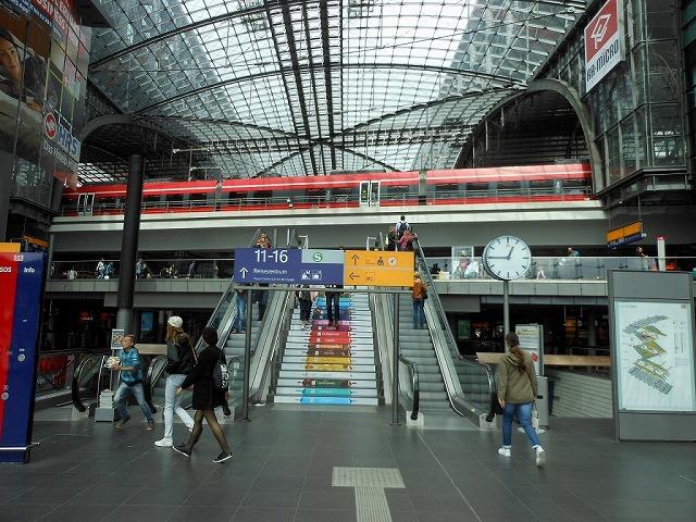 美しいベルリン中央駅