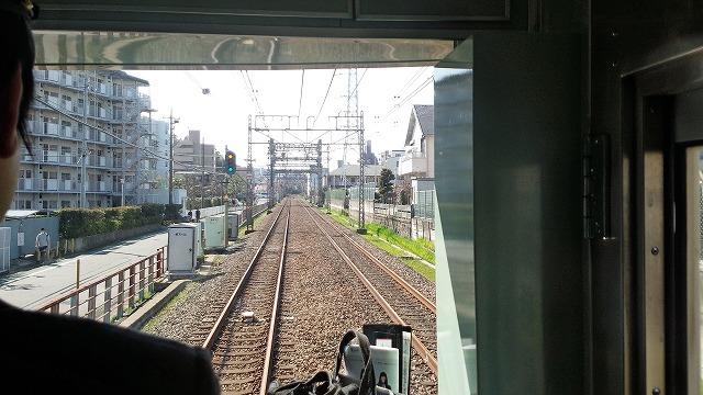 減速信号に引っかかる(向ヶ丘遊園→新百合ケ丘)