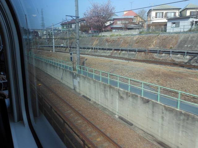 武蔵野線との合流地点