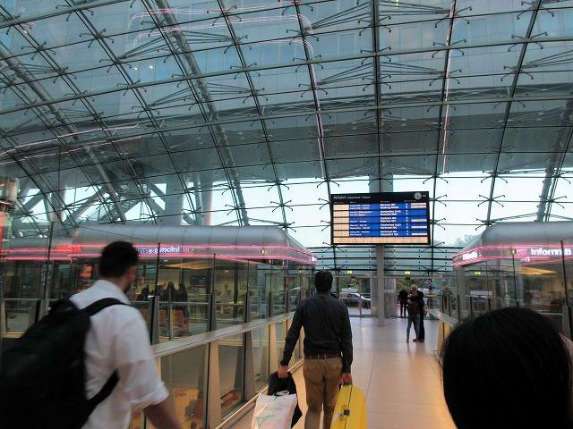 フランクフルト空港駅のDB窓口