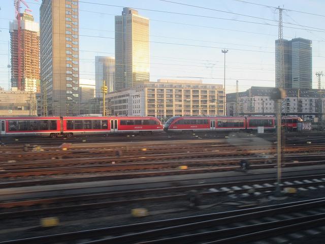 フランクフルトの都会的光景