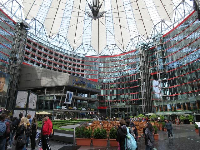 現代のポツダム広場