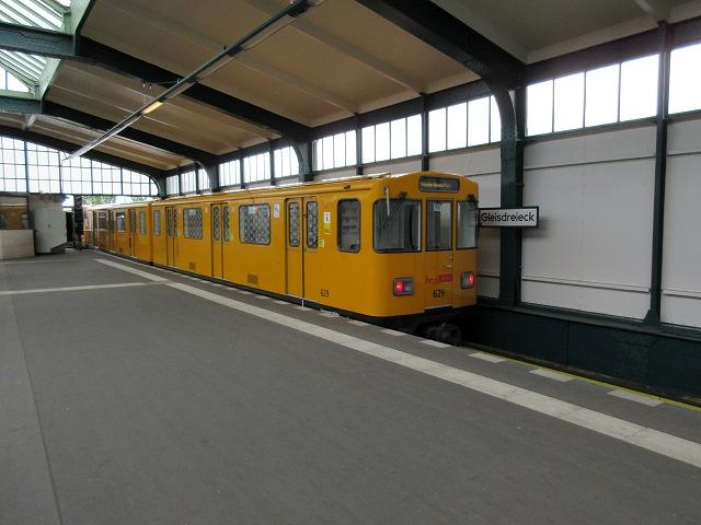 U2のGleisdreieck駅