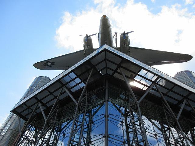 ドイツ技術博物館の外観