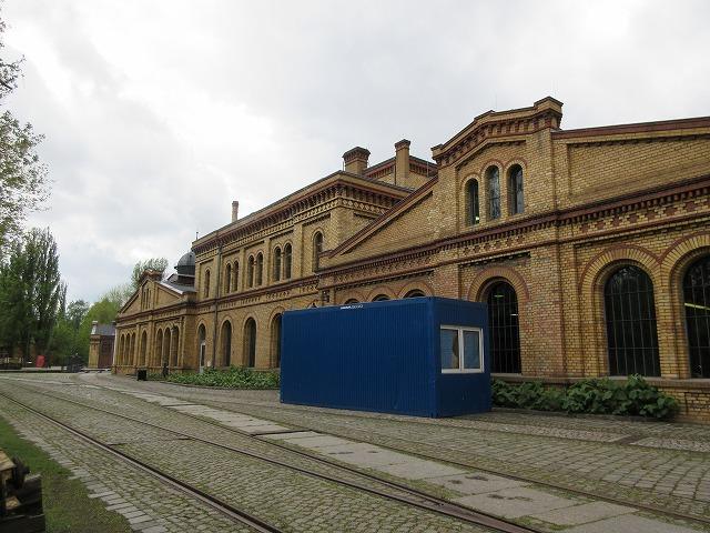 昔の駅舎を再利用