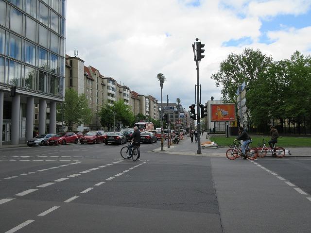 ベルリンの美しい街角