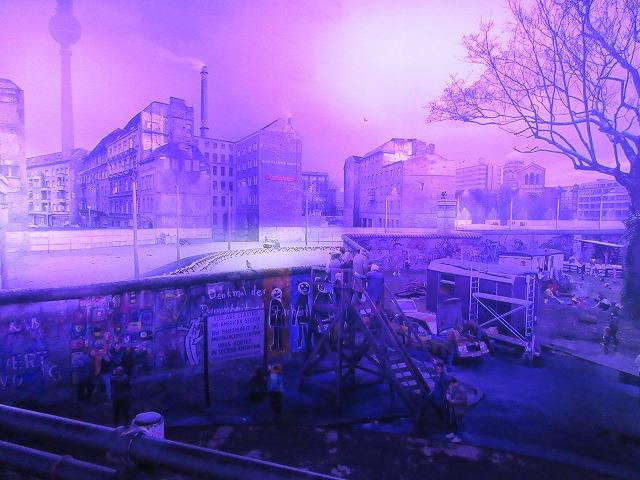 THE WALL - asisi Panorama Berlinのメインホール