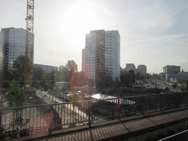 ベルリンSバーンからの車窓