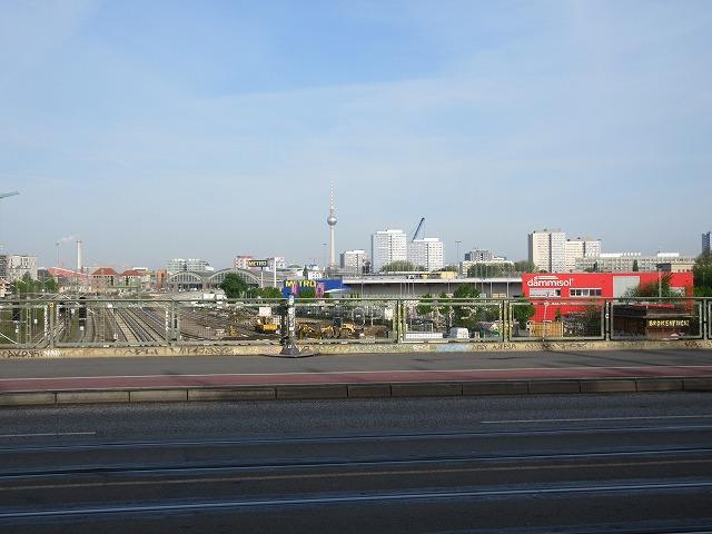 ヴァルシャワ通り駅前の光景