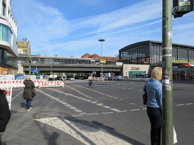 ベルリン動物園駅周辺の景色