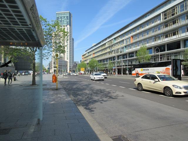 ベルリン西部の美しい街頭
