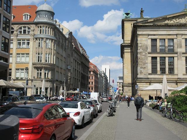 ベルリンの美しい街並